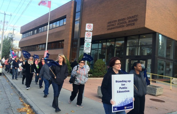 OSSTF rally